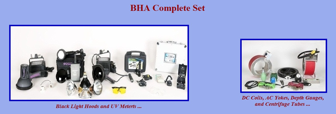 BHA Complete Set